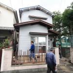 解体業者さん立ち会い 堺市中区F様邸