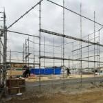 土台と大引工事から建て方スタートです!