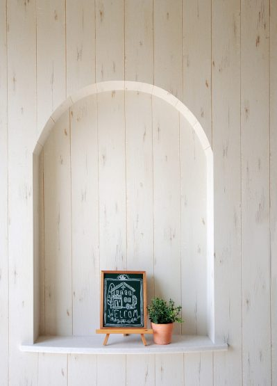 玄関のニッチ棚