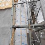 外壁下地工事中です。 N様邸 ・工事状況
