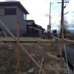 名張市桔梗が丘のM様邸 本日着工です。