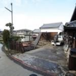 解体工事中です。 富田林市S様邸